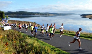 22. The iconic shot of the first ever Kielder Marathon 2010